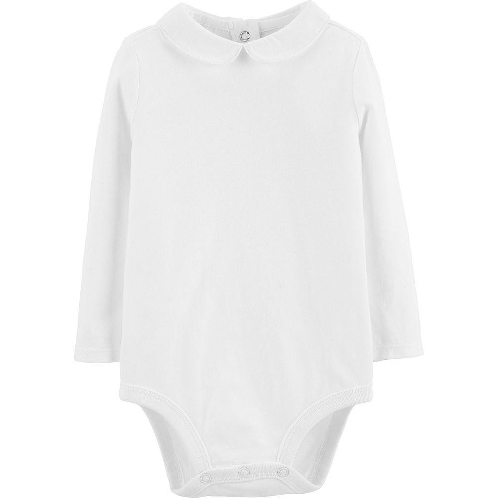 Baby Girl OshKosh B'gosh® Peter-Pan Collar Bodysuit