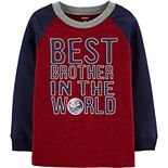 Baby Boy Carter's Best Brother Slub Jersey Tee