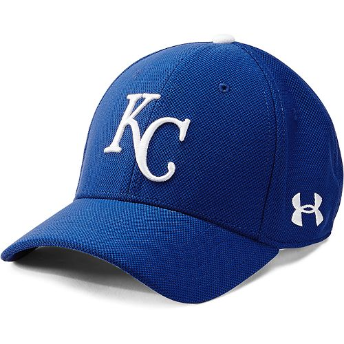 Men's Under Armour Kansas City Royals Adjustable Blitzing Cap