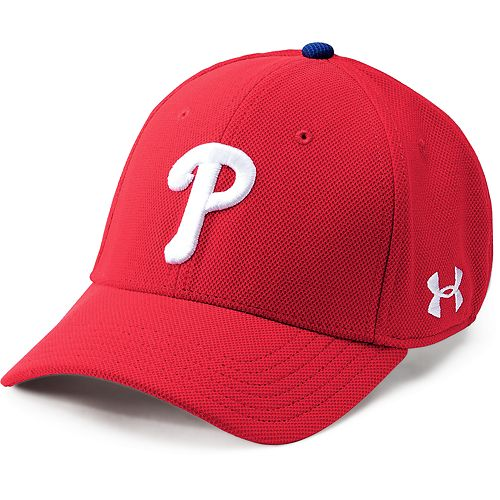 Men's Under Armour Philadelphia Phillies Adjustable Blitzing Cap