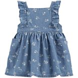 Baby Girl OshKosh B'gosh® Floral Chambray Dress