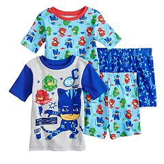 e090e8bd6e Boys 4-8 PJ Masks 4-Piece Pajama Set