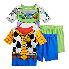 2f34752e617 Boys 4-10 Disney   Pixar Toy Story 4-Piece Pajama Set