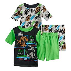 fb180e8424 Boys 4-10 Jurassic World 4-Piece Pajama Set