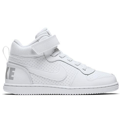 Nike Court Borough Mid Pre-School Kids' Sneakers