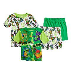 06cb2a8f786 Boys 4-10 Teenage Mutant Ninja Turtle Pajama Set