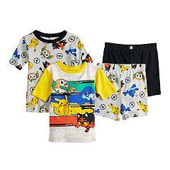 Boys 4-10 Pokemon 4-Piece Pajama Set