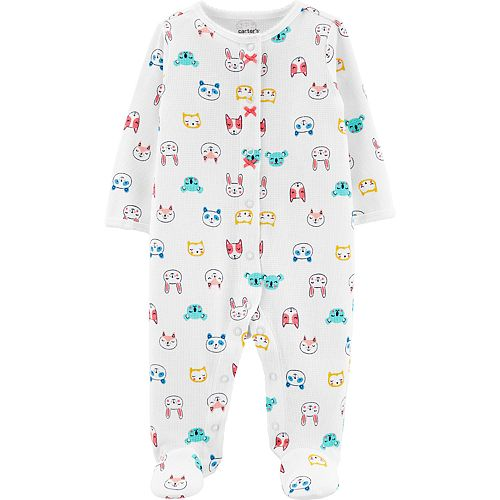 Baby Girl Carter's Animal Thermal Sleep & Play