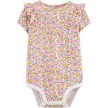 Baby Girl OshKosh B'gosh® Ruffle Floral Bodysuit