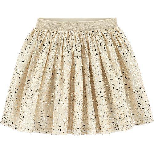 Girls 4-14 OshKosh B'gosh® Sequined Tulle Skirt