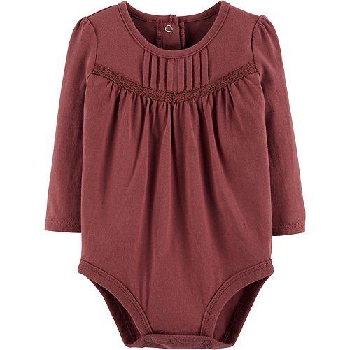 - Red Baby 12 Months OshKosh BGosh Baby Girls Knit Top