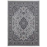 Linon Emerald Medallion Rug