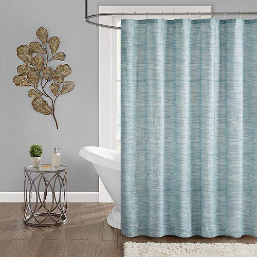 Madison Park Springdale Seersucker Shower Curtain