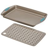 Rachael Ray® Cucina Nonstick Bakeware 2-pc. Crisper Pan Set