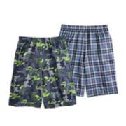 Boys 8-20 Up-Late 2-Pack Sleep Shorts