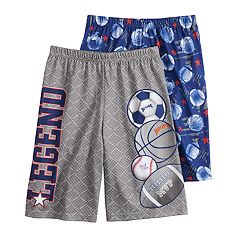 be11e1a5893f Boys 8-20 Up-Late 2-Pack Sleep Shorts