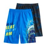 Boys 8-20 Up-Late 2-Pack Sleep Shorts