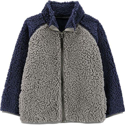 Baby Boy Carter's Zip-Up Sherpa Jacket