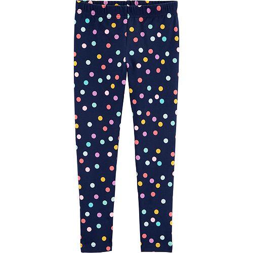 Girls 4-12 Carter's Polka Dot Leggings