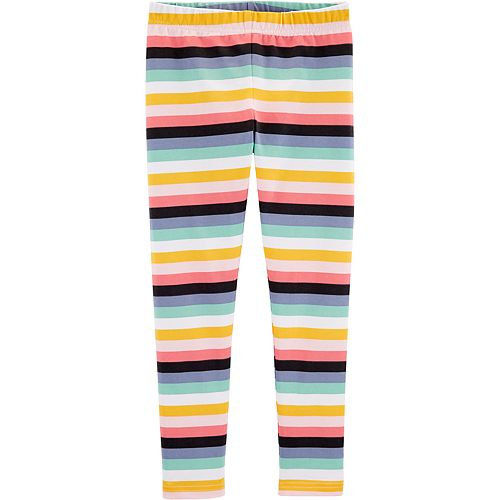 Girls 4-12 Carter's Striped Leggings