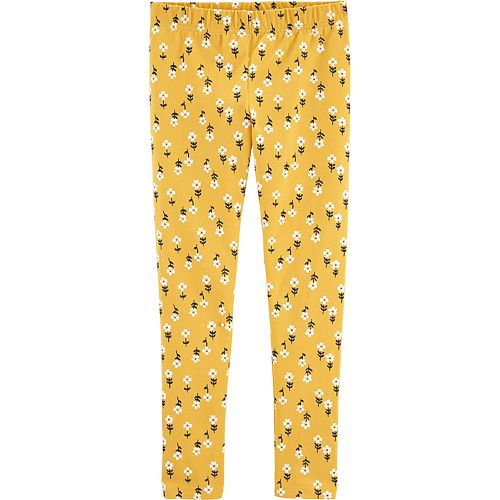 Girls 4-12 Carter's Floral Leggings