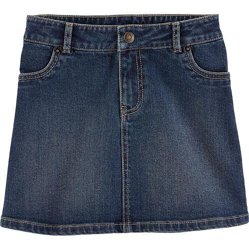 Girls 4-12 Carter's Denim Skirt