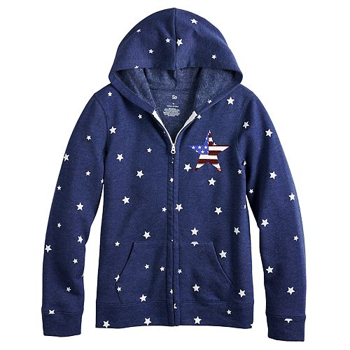 Girls 7-16 SO® French Terry Hoodie