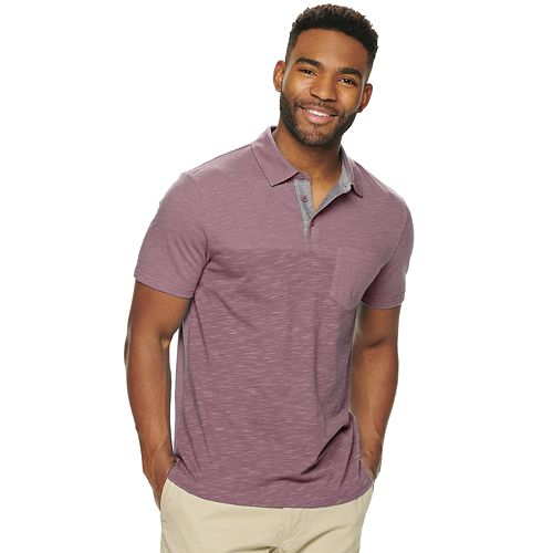Men's SONOMA Goods for Life® Supersoft Colorblock Polo