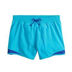 Girls 7-16 SO® Running Shorts