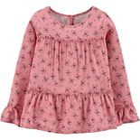 Girls 4-12 Carter's Floral Viscose Tiered Top