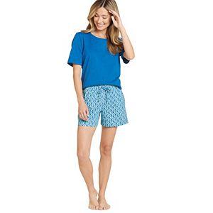 Plus Size Jockey Everyday Essentials Boxer Pajama Shorts