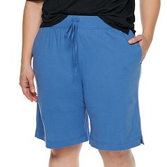 Plus Size Jockey Everyday Essentials Bermuda Pajama Shorts