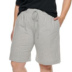 Plus Size Jockey Everyday Essentials Bermuda Pajama Shorts