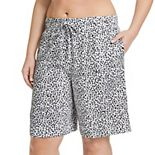 Plus Size Jockey® Everyday Essentials Bermuda Pajama Shorts