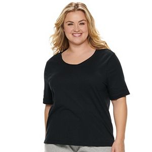 Plus Size Jockey® Everyday Essentials Pajama Tee