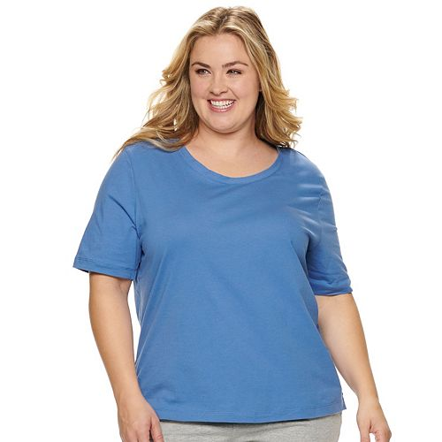 Plus Size Jockey Everyday Essentials Pajama Tee