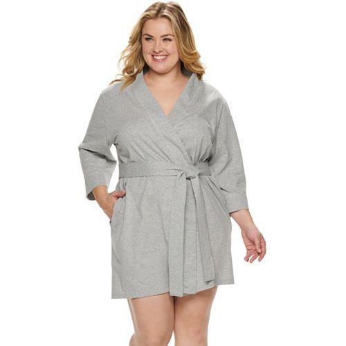 Plus Size Jockey Everyday Essentials Robe