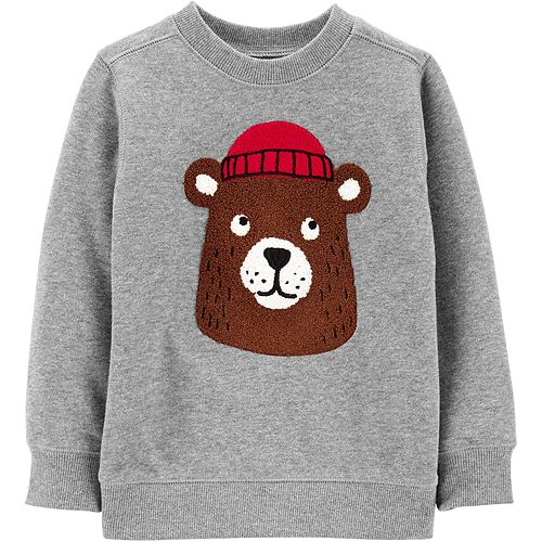 Baby Boy Carter's Bear Fleece Sweatshirt