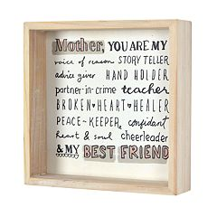 New View Gifts Mom Sentiment Wall Decor