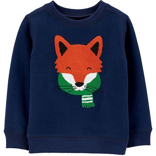 Baby Boy Carter's Fox Fleece Sweatshirt