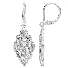 Brilliance Drop Earrings with Swarovski Crystals