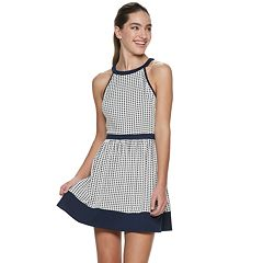 Juniors' Speechless Framed Skater Dress