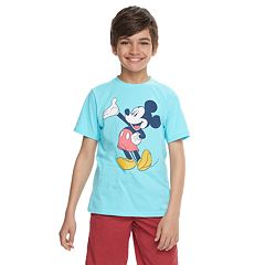 Disney's Mickey Mouse Boys 8-20 Classic Graphic Tee by Family Fun