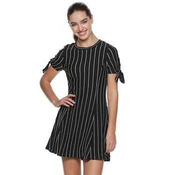 Juniors' Speechless A-Line Striped Dress