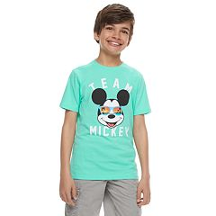 Disney's Mickey Mouse Boys 8-20 'Team Mickey' Graphic Tee by Family Fun