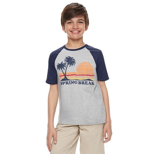 "Boys 8-20 ​Family Fun™ ""Spring Break"" Graphic Tee"
