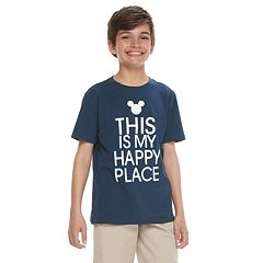 Disney's Mickey Mouse Boys 4-20 'Happy Place' Graphic Tee by Family Fun