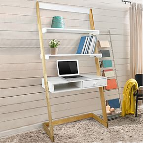 American Trails Freestanding Ladder Desk & Drawer