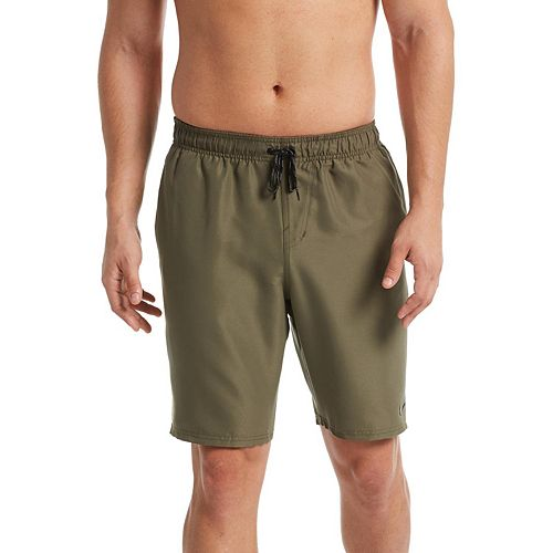 Men's Nike Diverge Perforated 9-inch Brushed Microfiber Volley Shorts