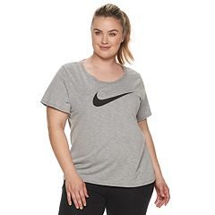 Plus Size Nike Dry Graphic Tee